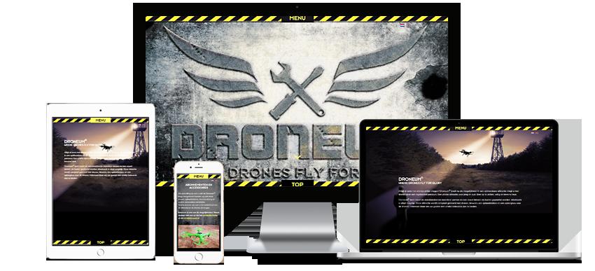 Droneum - Portfolio WordPress websites Sbddesign