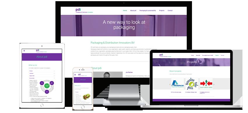 Packaging & Distribution Innovators - Portfolio WordPress websites Sbddesign