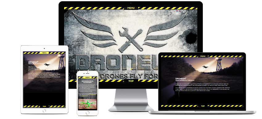 Droneum - Portfolio WordPress websites Sbddesign