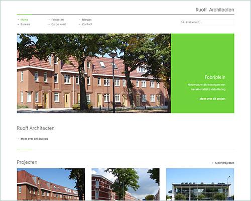 Ruoff Architecten | Portfolio Sbd design