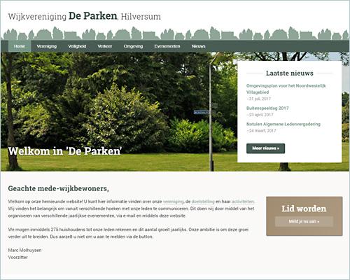 Portfolio Sbddesign - De Parken