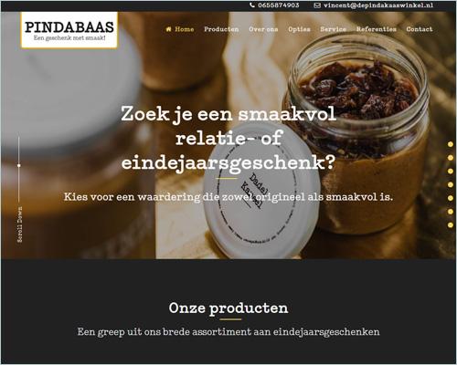 Pindabaas | portfolio Sbddesign
