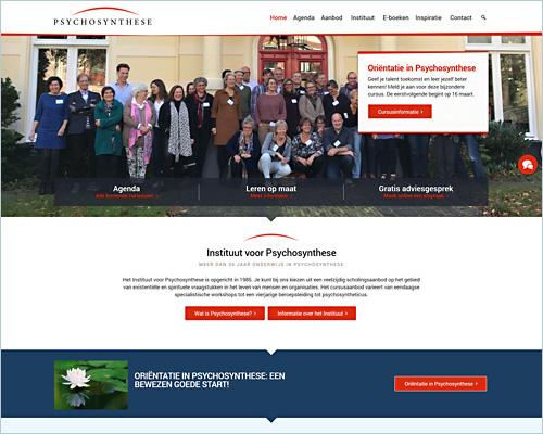 Portfolio Sbddesign - Instituut voor Psychosynthese
