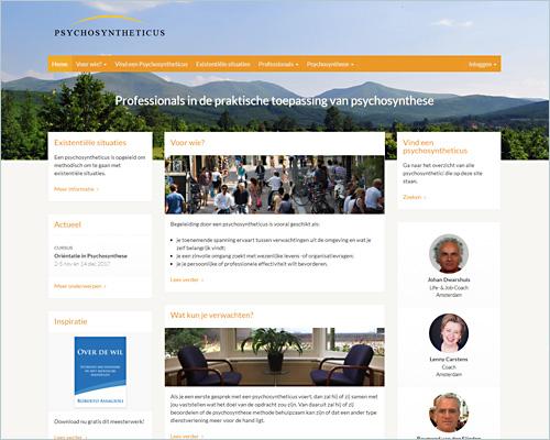 Portfolio WordPress websites van sbddesign.nl in Hilversum
