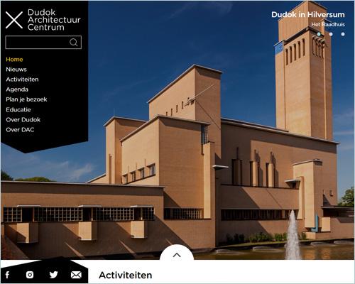 Dudok Architectuur Centrum - Portfolio Sbddesign