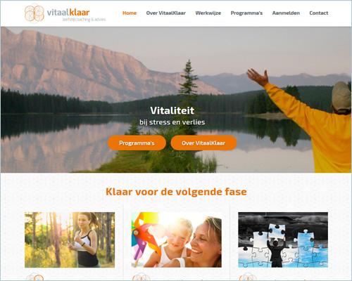 VitaalKlaar - Portfolio Sbd design