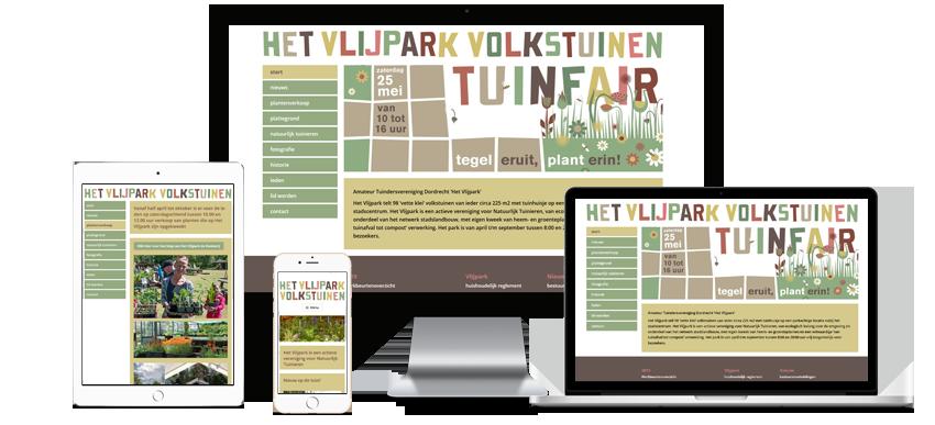 Amateur Tuindersvereniging Het Vlijpark - portfolio Sbd design